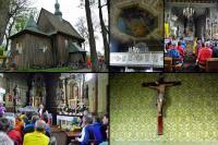 REMBIESZYCE- drewniany kościół z końca XVIII wieku