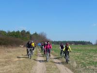 ... Na rowerze, na rowerze- dzeń, dzeń, dzeń... ;-)))