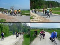 przeważnie na rowerze się jechało ale czasami też sie go i pchało... ;-))))