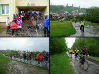 W niedzielę 1 maja pogoda splatała nam psikusa- od rana padał deszcz... pomimo to z postanowilismy wyruszyć w trasę...