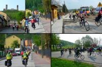 Parada rowerowa uliczkami miasta
