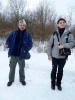 Koledzy: Grzegorz Kowalski- nasz przewodnik oraz Paweł Milewicz- organizator i kierownik wycieczki