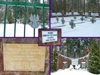 Skarbowa Góra- wojenny cmentarz wojenny żołnierzy Armi Krajowej