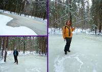 ... a my z Ewunią mamy okazję na kolejny, tym razem lodowy lansik;-))