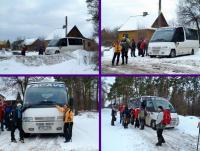 Koniec wycieczki- bus nas czeka- miejscowość Pogorzałe
