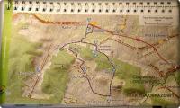 15 kwietnia- mapka trasy; fot. R. Tomczak