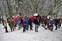 Łysica- dotarło tu ponad 100 osób - fot. kol. Jacek Jopowicz
