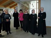 Do naszej grupy dołączyły siostry zakonne. Własnie zastanawiamy się z Renią czy nie wstąpić do zakonu.... ;-))
