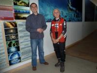 W galerri niespodzianka- naszym przewodnikiem jest kol. z Klubu Górskiego: Wojtek Buczkowski;-))
