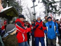Kol. Lech Segiet udziela wywiadu do Radia Kielce