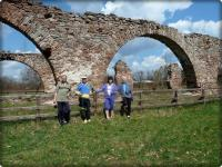 Pozostałości Zakładów Wielkopiecowych w Bobrzy i nasz mały lansik