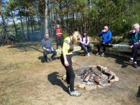 KOL. RENATA TOMCZAK zorganizowała ognisko na swojej pieknej dzialce w Kaczynie- za gościnę serdecznie dziękujemy;-)))