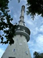 Wieża radiowo- telewizyjna na Św. Krzyżu