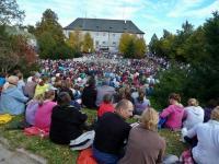 Na Św. Krzyżu- w tym roku dotarło tu ponad 5000 pielgrzymów