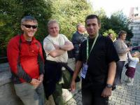 Zbychu, Piotrek i Tomek