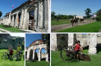 Ruiny zamku w Sobkowie to piękna miejscówka...