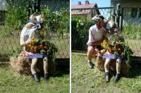 BOGUŚ znalazł sobie pannę- całuje ją z zapałem- oby to nie był SŁOMIANY ZAPAŁ;-))))