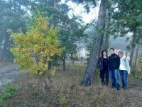 Od lewej: Ania, Piotrek i Krysia