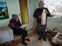 Odwiedziny u pana Jana Wójcikiewicza- regionalnego artysty rzeźbiarza