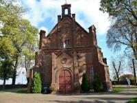 Grabkowo - kościół parafialny p.w. Św. Marii Magdaleny z zabytkową dzwonnicą