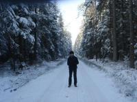 Zimowy spacerek