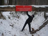 Rezerwat Barania Góra, Ciosowa Góra - zimowy spacerek