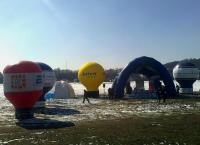 Miasteczko Maratonu na Błoniach Krakowskich