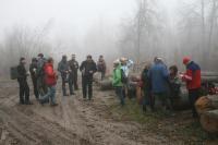 24-11-2012 Sobotnia wycieczka Klubu Górskiego PTTK Kielce.
